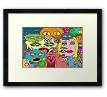 I think the eyes have it! Framed Print