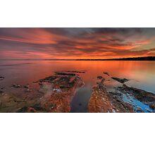 Sunset (6-10-13) Photographic Print