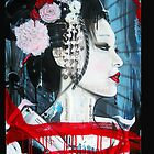 Geisha iPhone Case (Original Color) by Tim Miklos