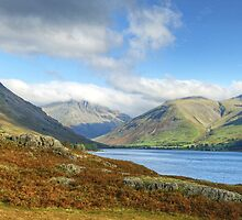 Wastwater And The Scafells by Jamie  Green