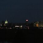 Harrisburg at night by TouchingNature