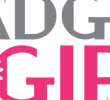 Gadget Girl Sticker