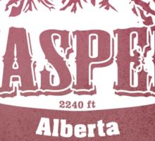 Jasper Alberta Ski Resort Sticker