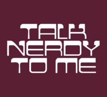Talk Nerdy by e2productions