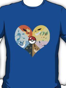 I love you Eevees! T-Shirt
