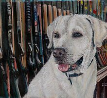 Baretta Dog by Debra Keirce