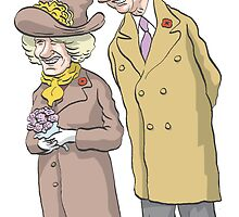 Royals, Charles and Camilla by MacKaycartoons