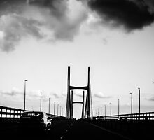 The Severn Bridge. by katmchattie