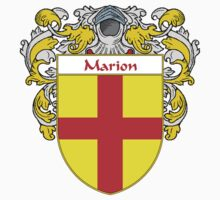 Marion Coat of Arms/Family Crest by William Martin