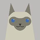 Siamese Cat by psygon