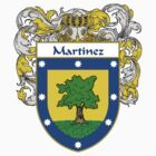 Martinez Coat of Arms/Family Crest by William Martin
