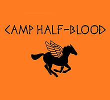 Camp Half-Blood by dellycartwright