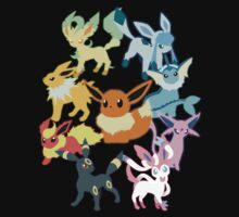 Eeveelutions by Jezika89