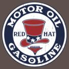 Red Hat Oil / Gasoline by KlassicKarTeez