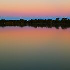 Lake Cargelligo Sunset, New South Wales by RedNomadOZ