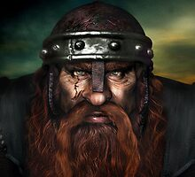 Warrior Dwarf by boblea