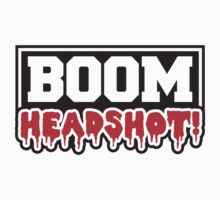 Boom Headshot Stamp by Style-O-Mat
