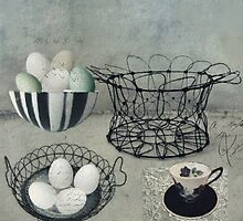 The Vintage Egg Basket by Sarah Jarrett