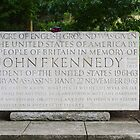 John F Kennedy Memorial by Carol Bleasdale
