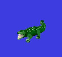 Green Crocodile by kwg2200
