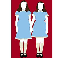 The Grady Girls - The Shining Photographic Print