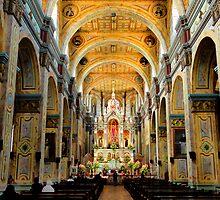Inside Santo Domingo by Al Bourassa