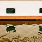 Lines of a boat, by Jip v K