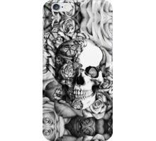 Ladybug Rose skull.  iPhone Case/Skin