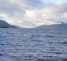 Loch Ness from Dores by Andy Jordan