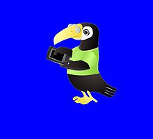 Toucan With Tablet by kwg2200
