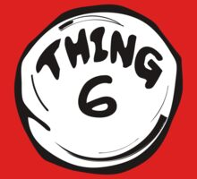 Thing 6 T - Shirts & Hoodies by mike desolunk