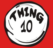 Thing 10 T-Shirts & Hoodies by mike desolunk