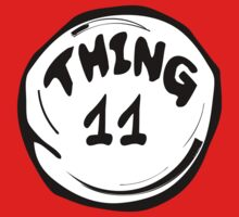 Thing 11 T-Shirts & Hoodies by mike desolunk