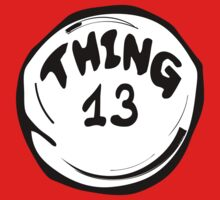 Thing 13 T-Shirts & Hoodies by mike desolunk
