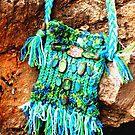 Turquoise BoHo Bag by Carla Wick/Jandelle Petters