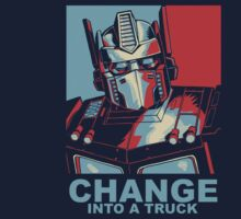 Change .. into a truck by tshirtsfunny