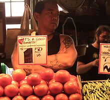 Fruit Vendor by Brendagpotash
