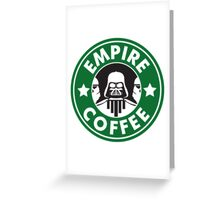 Empire Coffee Greeting Card