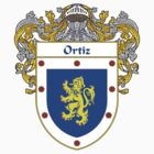 Ortiz Coat of Arms/Family Crest by William Martin