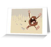 OMG a bee! Greeting Card
