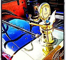 Vintage Ford Hood Ornament by Kim Taylor