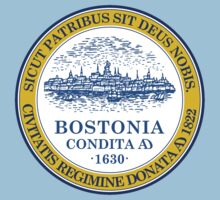 Boston, Massachusetts Flag by cadellin