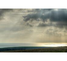 Land, Sea and Air Photographic Print
