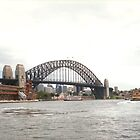 Sydney Harbor Bridge Australia by biglnet