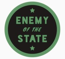 ENEMY of the STATE (Green Inverted) by anarchei