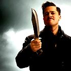 Brad Pitt @ Inglourious Basterds by Gabriel T Toro