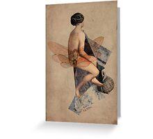 Venus Collage Greeting Card