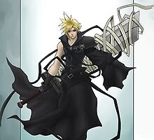 Cloud Strife  by gecaccavale