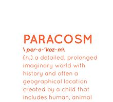 Lost Words: Paracosm by One Future Foundation