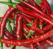 Hot Chillies by marksatchwillart
